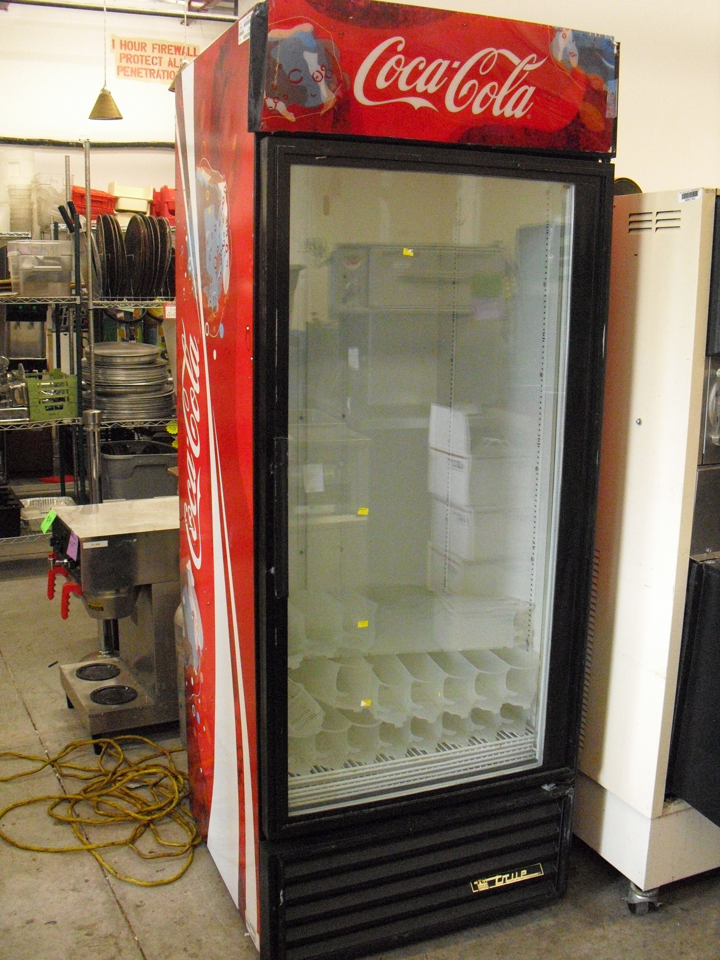 Air Prices Single Glass Door Coolers – True And Beverage Air – Used