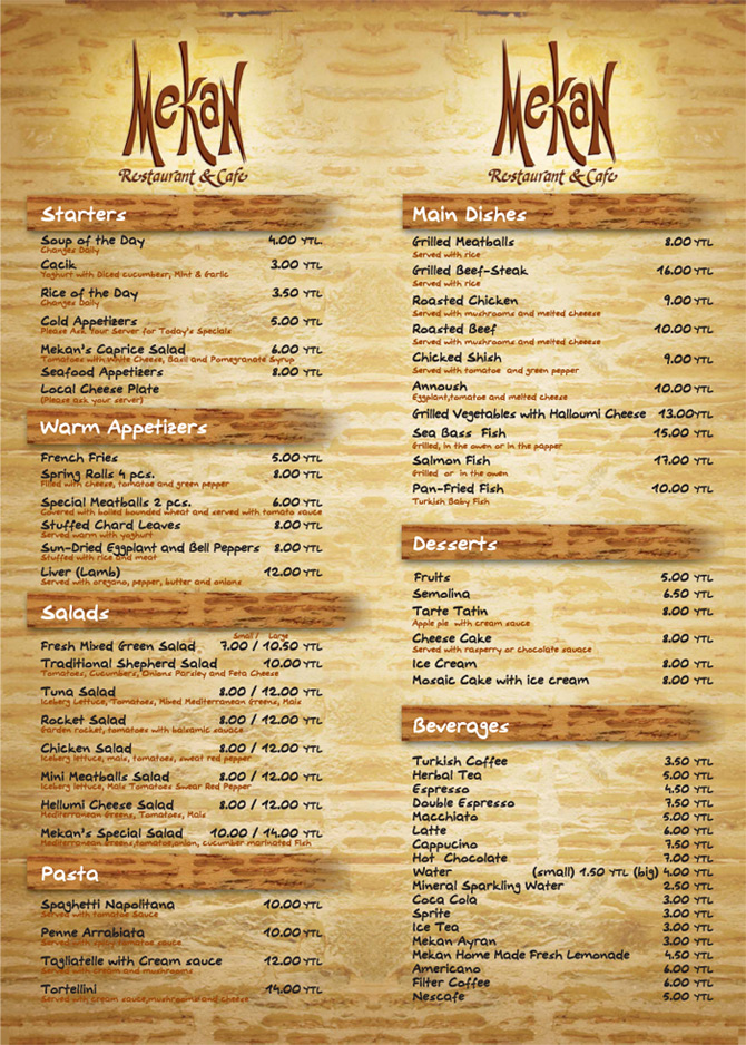 create restaurant menu - Onwebioinnovate