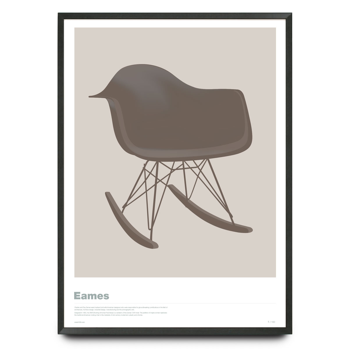 Eames Rar Eames Rar In Warm Grey