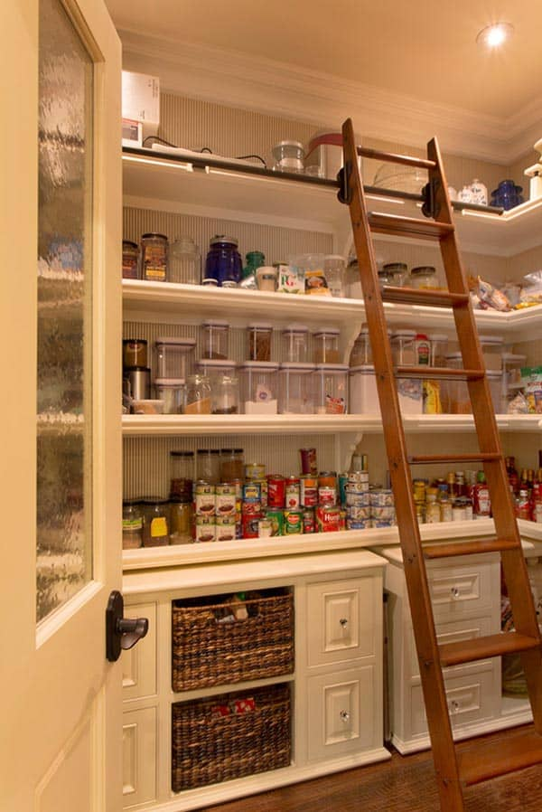 Kitchen Pantry Ideas 53 Mind-blowing Kitchen Pantry Design Ideas