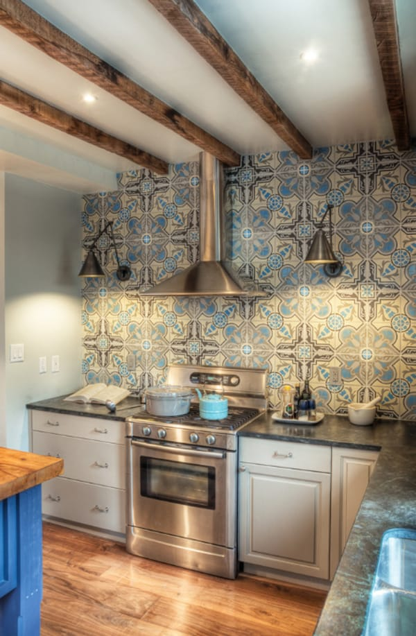 create decorative kitchen backsplash cement tiles kitchen backsplash
