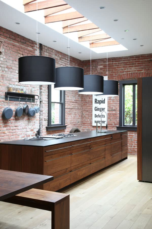 Sola Keuken 57 Spectacular Interiors With Exposed Brick Walls