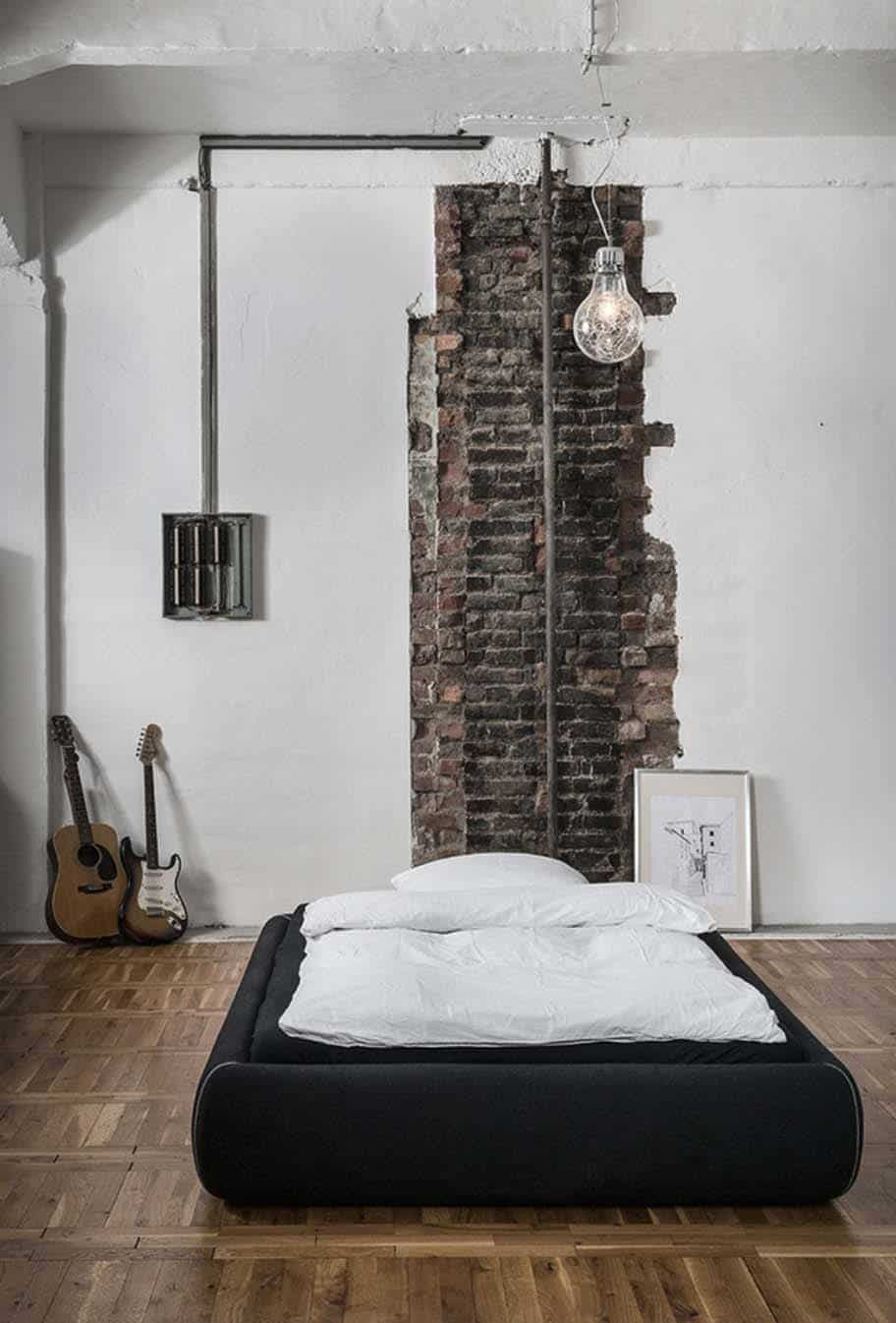 Schlafzimmer Industrial 35 Edgy Industrial Style Bedrooms Creating A Statement