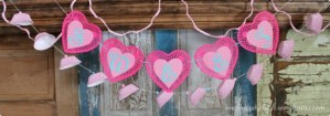 Valentine garlands
