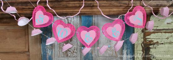 Valentine garlands