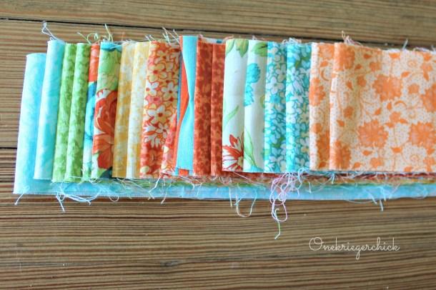 Jelly roll strips {Onekriegerchick.com}