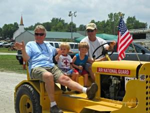 Tractor Cruise 2012 {Onekriegerchick.com}