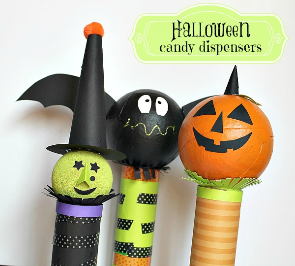 Halloween Candy Dispensers {1}