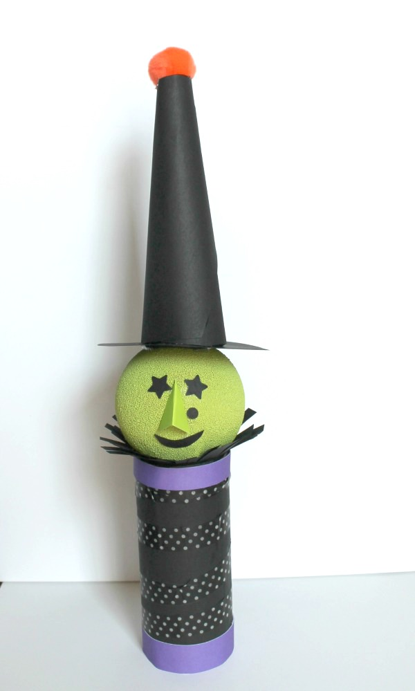 Witch Halloween Candy Dispenser