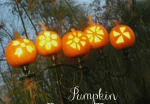 slider pumpkin candelabra {1 plain}