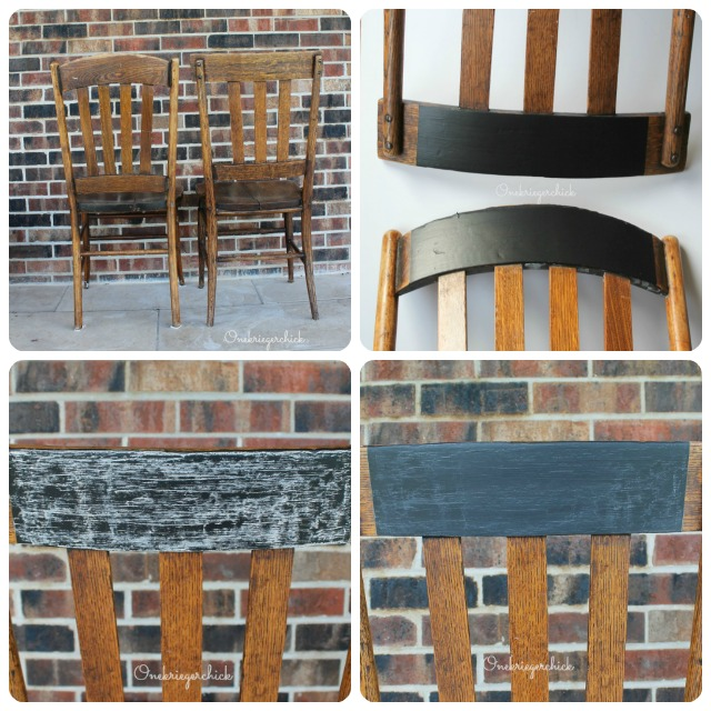 Chalkboard Chair how-to