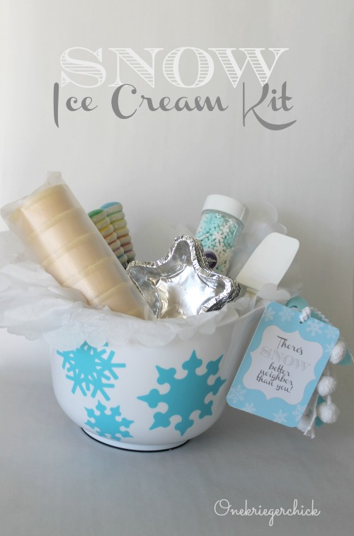 http://onekriegerchick.com/2013/12/23/snow-ice-cream-kit-neighbor-gift/