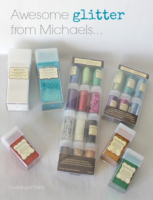 Michaels Recollections glitter