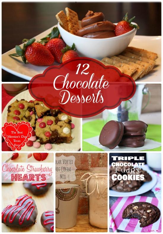 12 Delicious Chocolate Desserts