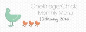 Feb 14 Menu