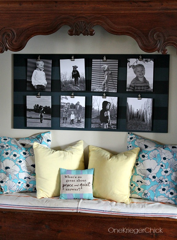 How to Make a Gallery Style Photo Board