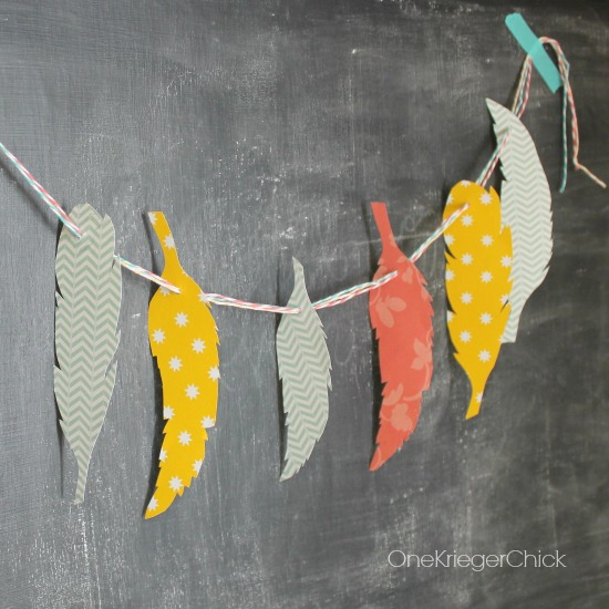 How-to-make-a-feather-garland