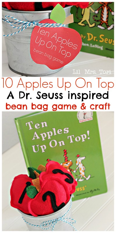 apple bean bag game