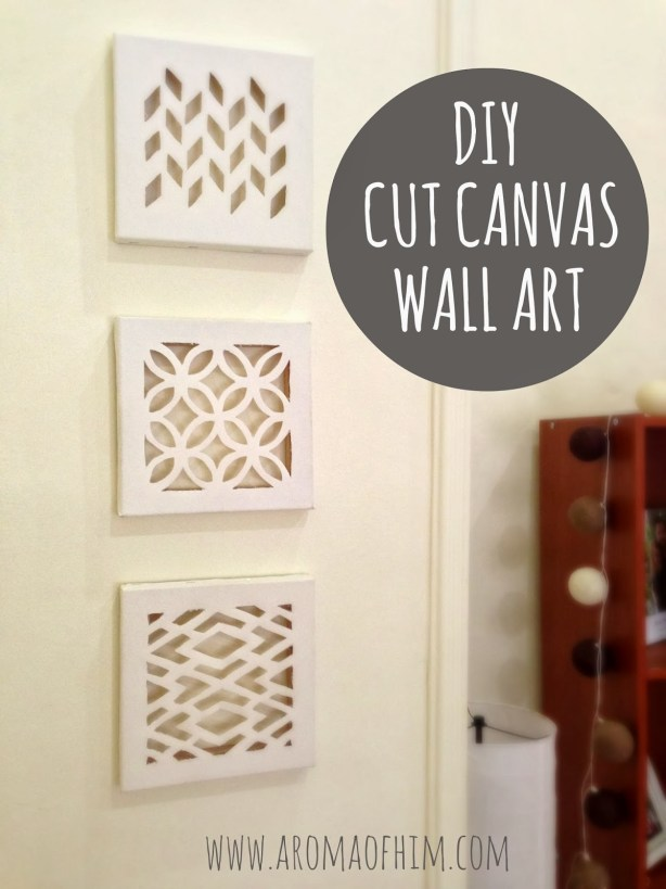 cut canvas tutorial
