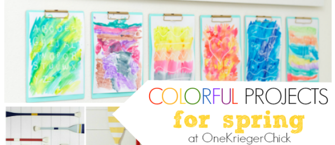 Colorful Projects {to brighten any day!}