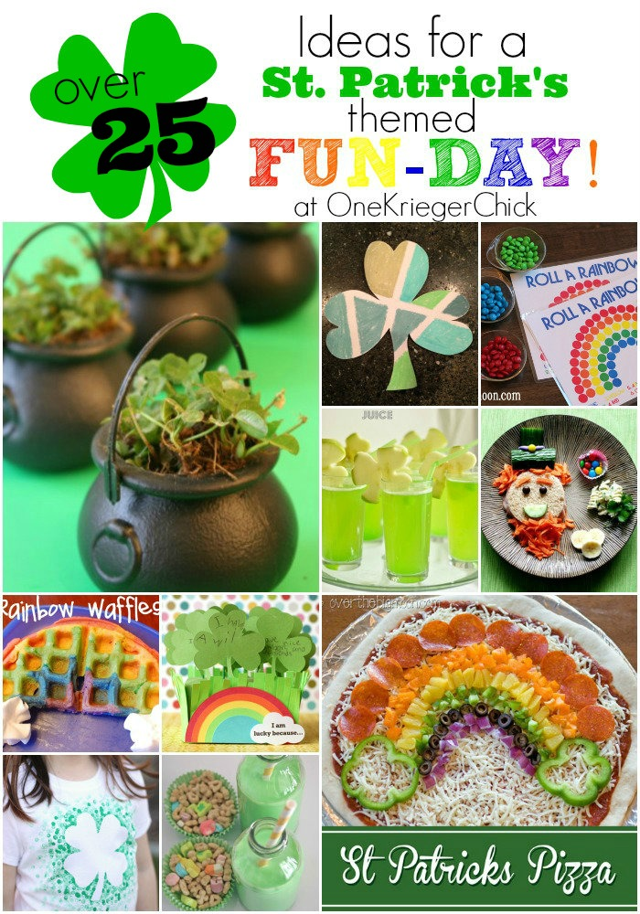 Create-Your-Own-St. Patrick's-themed-Fun-Day! Ideas-for-Food-Activities-and-Crafts!