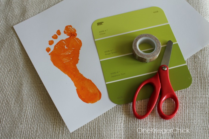 Supplies-for-footprint-carrot