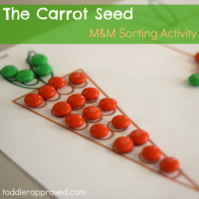 carrot seed sorting activity
