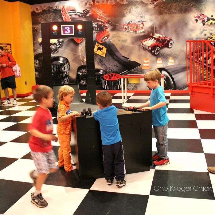 Fun building racers at Legoland Kansas City