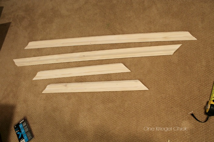 How to make a hanging wall frame with a staple gun- easier than you think! #ArrowFastener