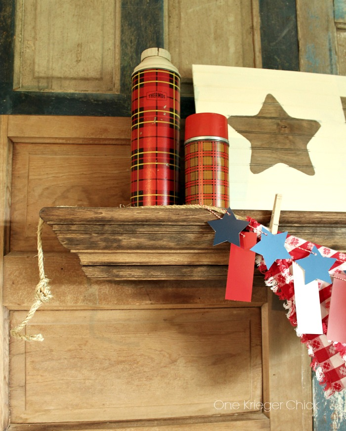 Picnic-mantel-decor