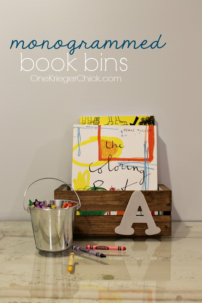 how-to-make-monogrammed-book-bins-OneKriegerChick.com