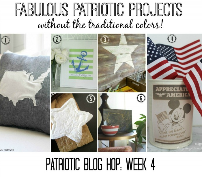 NO Red White and Blue Challenge Week 4...Over 30 Awesome projects total!