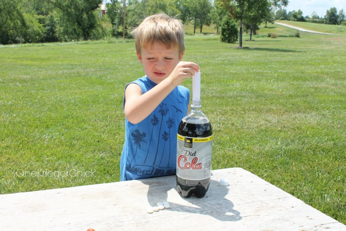 Exploding Soda-So fun!
