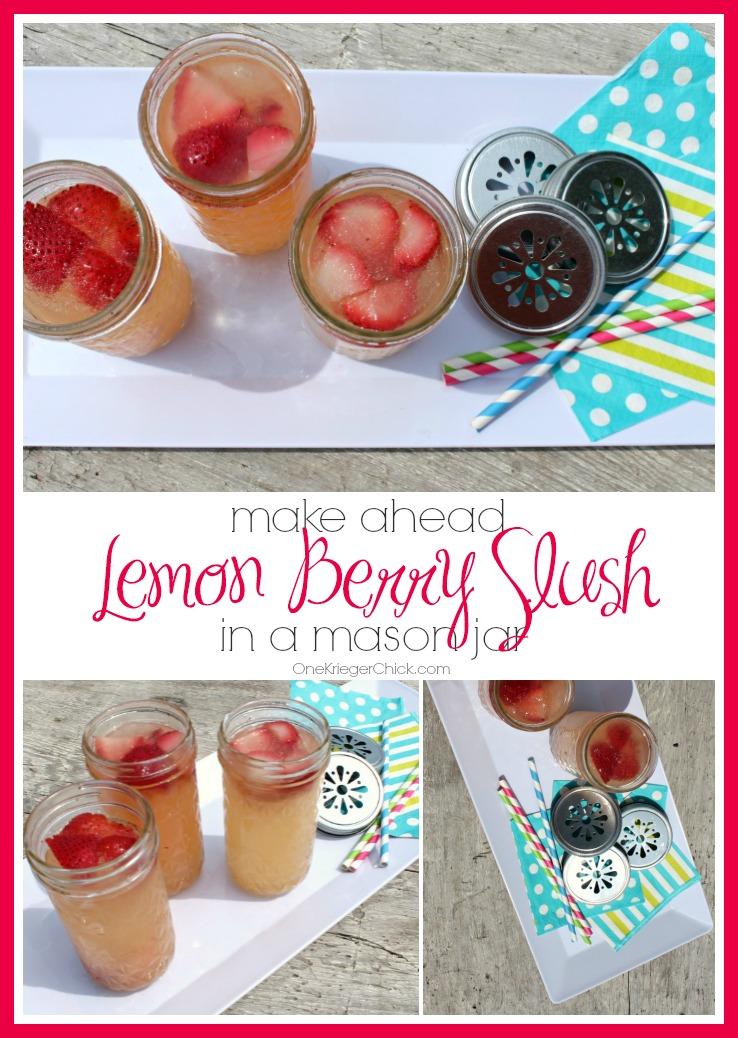 Make-ahead-Lemon-Berry-Slush-perfect-for-parties! OneKriegerChick.com