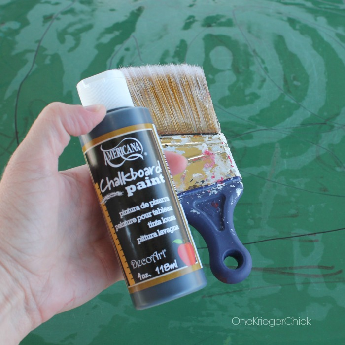 paint and favorite brush-OneKriegerChick.com