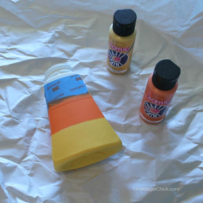 Candy Corn soap dispenser-3-OneKriegerChick.com