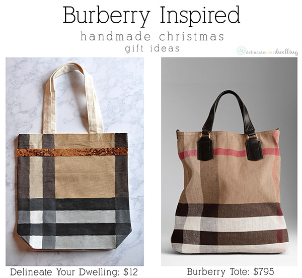 burberry comparrison