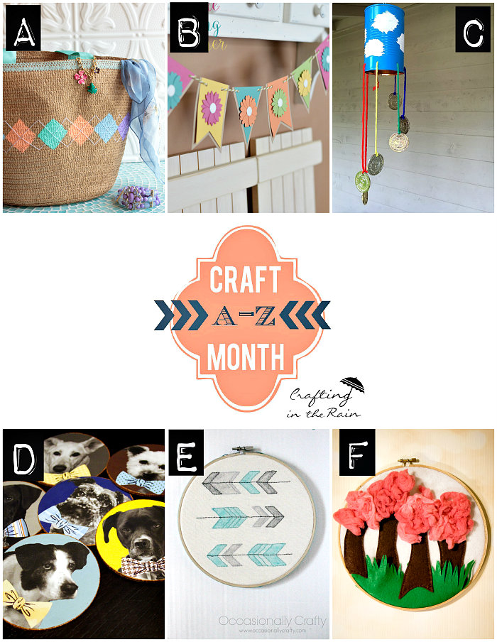 craft month a-f