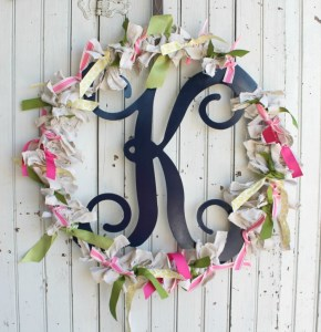 scrappy spring monogram wreath- slider image