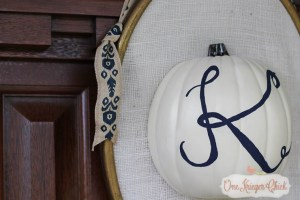 Monogram Pumpkin Door Decor-5-OneKriegerChick