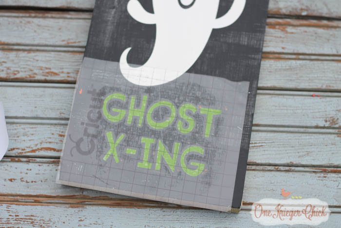 Pottery Barn Inspired Halloween sign- made in 15 minutes!1- OneKriegerChick