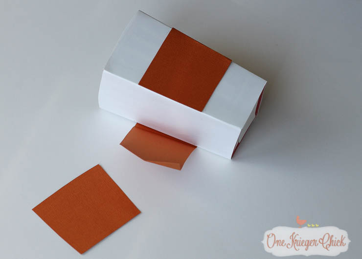 How to make your own Candy Corn Popcorn Box-6- OneKriegerChick