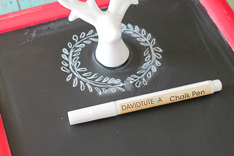 Chalkboard writing couldn't be easier with this simple tutorial! OneKriegerChick.com