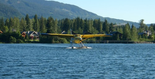 Whistler Air's dock is on Green Lake near Nicklaus North Golf Course
