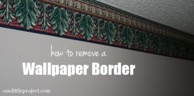 How to remove a wallpaper border