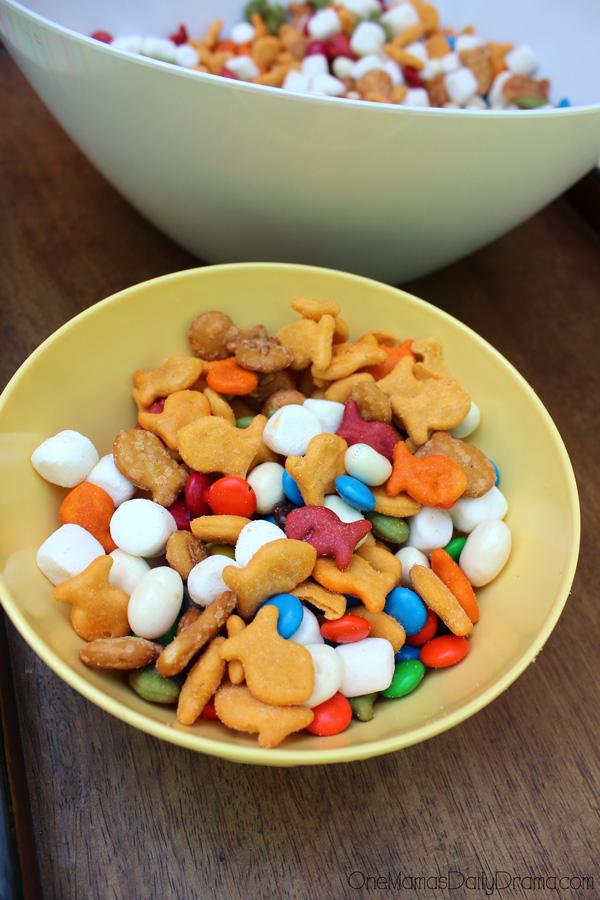u0026quot unicorn food u0026quot  rainbow snack mix