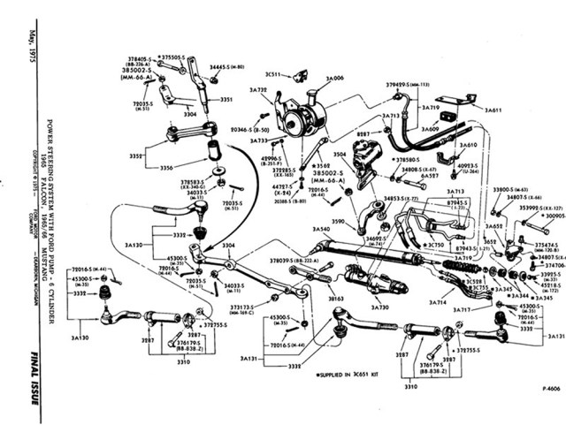 1967 mercury cougar steering diagram 1967 get image about