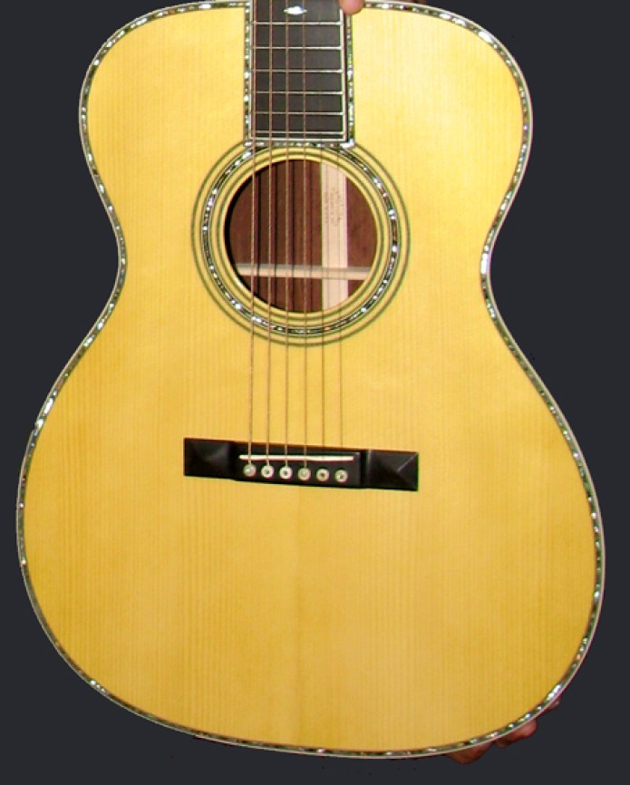Martin OM-42 Deep Body review One Man's Guitar onemanz.com Adirondack spruce