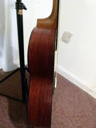 Martin Custom CEO-7 cocbolo side at Mandolin Brothers