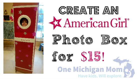 American Girl photo booth ideas